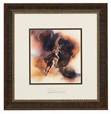 BEV DOOLITTLE 'WSS' Runs with Thunder Matted & Framed Fine Art Print