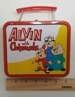 Alvin and the Chipmunks Small Lunch Box Candy Tin