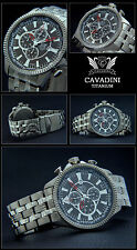 Luxury Aviator Men's Chronograph Watch Series Blackhawk Made of Solid Titan NEW