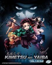 DVD Anime Demon Slayer: Kimetsu no Yaiba Complete TV Series (1-26) English SUB