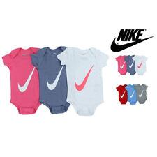 Nike Infant 3 Pack Lap Shoulder Bodysuits