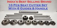 10 pcs Valve Seat & Face Cutter Set Automotive Industrial Tool-Heavy Duty HQ