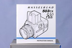 [ New ] Hasselblad 503CX 500Classic instruction Manual in English, [from Taiwan]