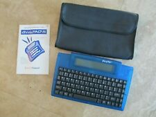 QuickPad IR Infrared Wireless Keyboard with case, manual