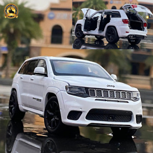 1:32 Jeep Grand Cherokee Trackhawk Diecast Toy Vehicle SUV Model Car Gift Kids