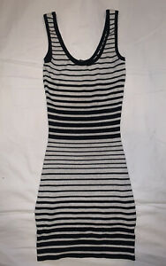 guess by marciano mini dress striped size small b#16