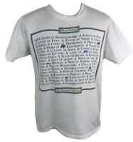 Vintage 90s The Nature Company T Shirt Animal Wildlife Tee Men's Medium Stitch L