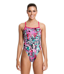 Funkita Ladies 16 Baby Come On Single Strap One Piece Swimming suit