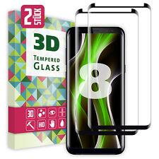 Zawino 3D Schutzglas für Samsung Galaxy S8 (Zweierpack)