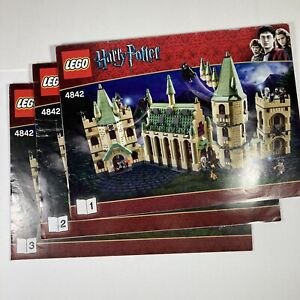 LEGO Harry Potter Hogwarts Castle (4842) INSTRUCTIONS ONLY