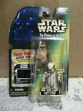 Star Wars The Power of the Force Freeze Frame Ewoks Wicket and Logray BRAND NEW!