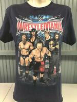 Wrestlemania Triple H Undertaker Brock Lesnar Dean Ambrose Medium T-Shirt