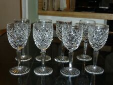 6 Waterford Crystal COMERAGH Claret Wine Glasses/ Hand made in IRELAND