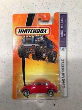 MATCHBOX 1962 VW BEETLE MBX METAl free shipping!