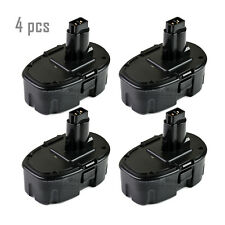 4 x NEW 18V NI-CD Battery for DEWALT DE9039 DE9095 DW9095 18 Volt Cordless Drill