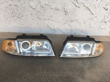 Headlight Head Lamps for 99 00 01  Audi A4 1999-2001 pair