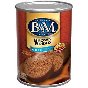 B & M Brown Bread   Original Flavor   16 Oz.   Pack of 12