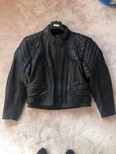 Dannisport Ladies Leather Motorcycle Jacket Size UK 12