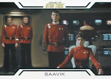 Star Trek Women Of 50th Anniversary Women In Command Chase Card WC9 Saavik