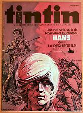 BD Comics Magazine Hebdo Journal Tintin No 32 35e Hans Dans la Dernière Ile