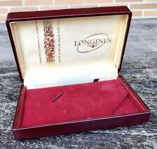 LONGINES Vintage Watch Box Heritage Conquest Evidenza Master Chronograph 13ZN