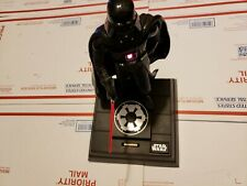 Vintage Darth Vader Moving Speaking Coin Bank Lucasfilm Limited Thinkway Toys  w