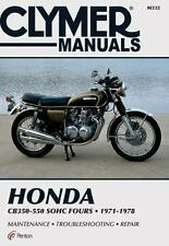 Honda CB350-550 Sohc Fours, 1971-1978 by Clymer Publications Staff and Penton...