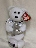 """Ty Beanie Baby """"Hugsy"""", Hershey's Kisses 100th Anniversary Bear Fr 2006"""