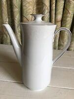 Johann Haviland Morning Mist Coffee Pot Urn Carafe Vintage Bavaria Germany White