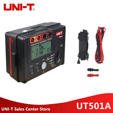 UNI-T UT501A 1000V Insulation Earth Ground Resistance Meter Tester LCD Backlight