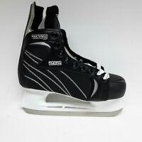 Baud Ice Pro 212 Eishockey Schlittschuh - Unisex Gr. 44  Iceskate schwarz Hockey