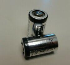 2 Pcs Panasonic CR2 Industrial Lithium Photo Battery 3V Exp 2027
