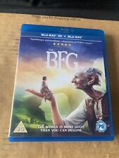 The BFG 3D Blu Ray + 2D Blu Ray Steven Spielberg Roald Dahl