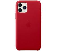 """Apple Original Véritable Coque en cuir pour iPhone 11 Pro 5.8"""" - Rouge"""