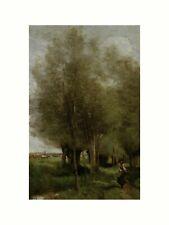 Camille Corot - Peasant women in the country 1866 Print 60x80cm
