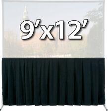 DA-LITE 36736 - SKIRT DRAPERY FOR 9x12 FAST-FOLD DELUXE SCREEN SYSTEM