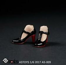 ASTOYS 1/6 AS009 Black High-heeled Shoes No Foot F 12'' Female Figure