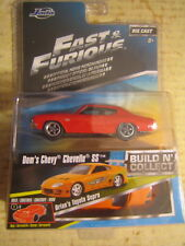 JADA 1:55 THE FAST & THE FURIOUS DOM'S CHEVY CHEVELLE SS NEW # 1 OF 6 IN SET