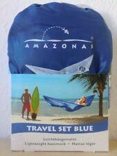 Amazonas Travel Set Blue Hängematte 275 x 140 cm Blau Leicht AZ-1030250