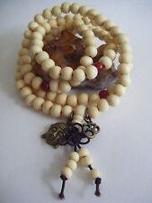 Spiritual Unisex Mala Necklace Stacking Bracelet Buddha Om Yoga Men Women Peace
