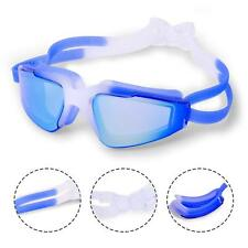 Youth Swimming Goggles No Leaking Anti Fog UV Protection Ear Plugs and Case Blue