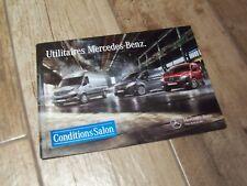 Catalogue / Brochure MERCEDES BENZ Utilitaires + Classe V 2004 //