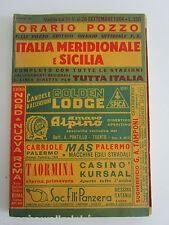 ITALY TRAIN TIMETABLE FS Railway Orario Regionale Italiano Fahrplan Horaire 1964