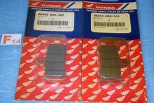 4 plaquettes de frein d'origine HONDA CBR 900 RR FIREBLADE de 1996/1997 neuf