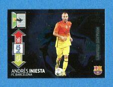 CHAMPIONS 2012-2013 -Adrenalyn Panini- Card LIMITED EDITION- INIESTA - BARCELONA