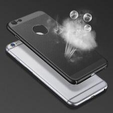 Tapa de malla de refrigeración iPhone. Caja del Teléfono Negro Mate Luz Transpirable