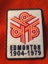 Edmonton Oilers City of Edmonton 1904-1979 Commemorative Patch
