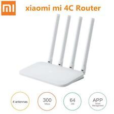 XIAOMI Mi Router 4C 4 antenas 2.4G 300 Mbps Router Inalámbrico Wifi de control de la aplicación nos