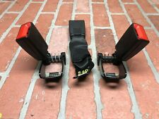 2006-2010 BMW 528XI E60 REAR 2ND ROW LEFT RIGHT CENTER SEAT BELT BUCKLE SET OEM