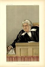 JUDGE BARRISTER AT HIS BENCH HONOURABLE GEORGE DENMAN JUDGE COURT CAMBRIDGE